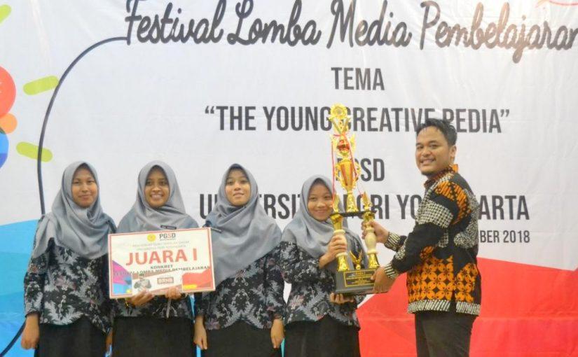 Juara 1 Festival Media Pembelajaran PGSD UPY 2018