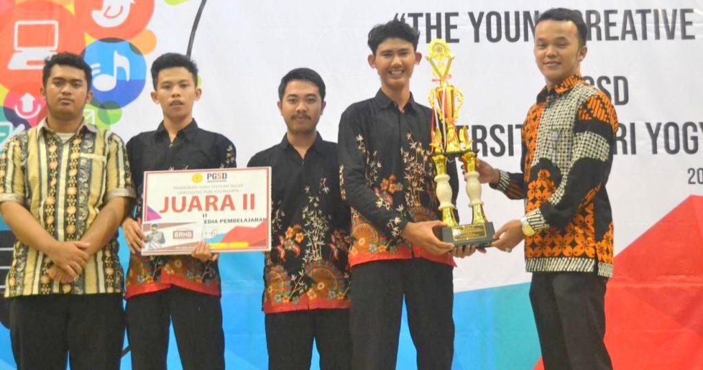 Juara 2 Festival Media Pembelajaran PGSD UPY 2018