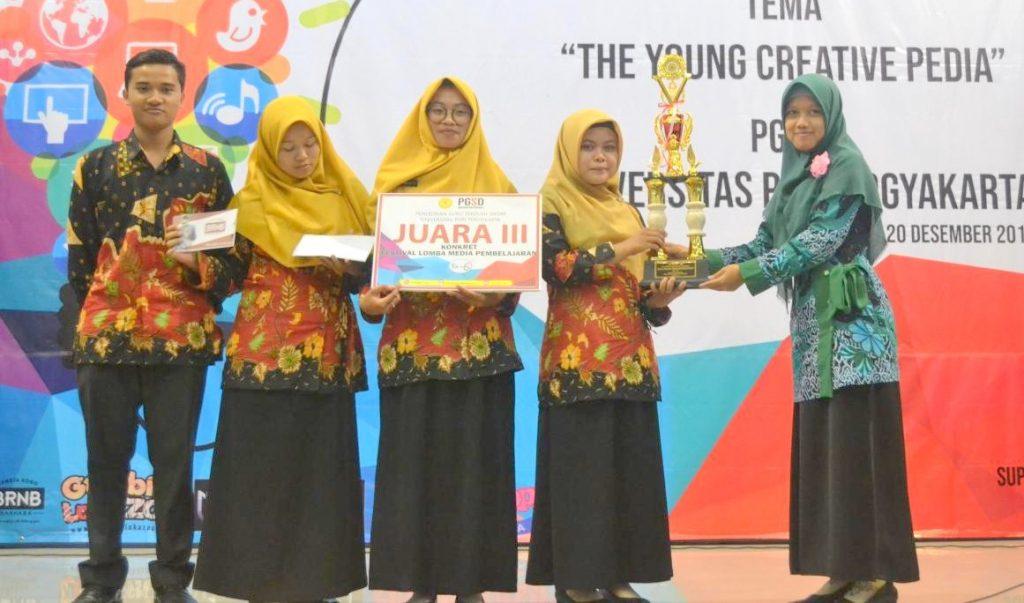 Juara 3 Festival Media Pembelajaran PGSD UPY 2018