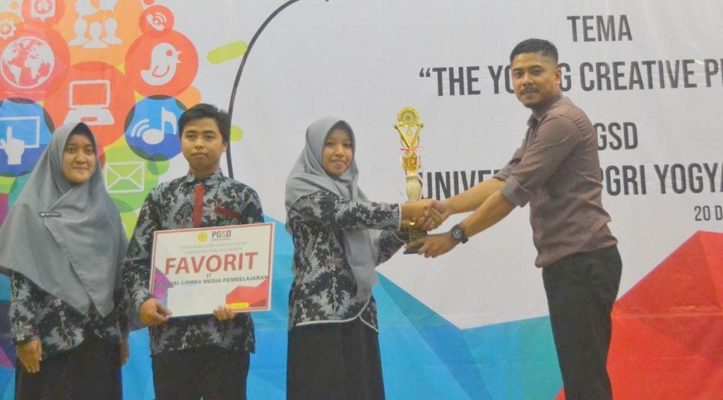 Juara Favorit Festival Media Pembelajaran PGSD UPY 2018